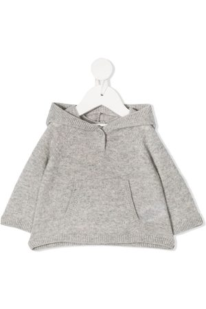 BONPOINT Cashmere knit hoodie - Grey