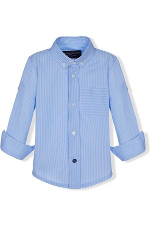 Lapin House Stripe-print button-down shirt