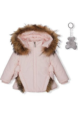 Lapin House Puffer Jackets - Padded double-bow jacket