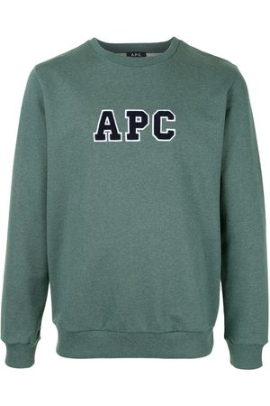 A.P.C Malcolm logo-embroidered sweatshirt