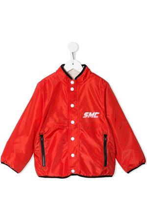 Stella McCartney Contrast-trim snap-button jacket