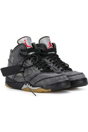 Nike Boys Sneakers - Air Jordan 5 high-top sneakers