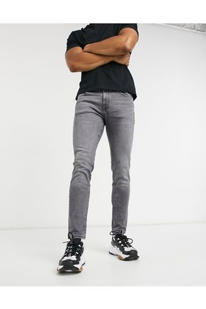 Selected Slim jean in organic cotton washed