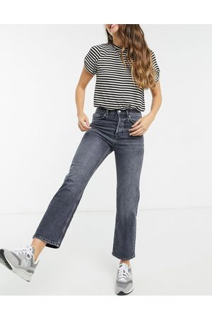 MANGO Ultimate straight jeans in washed