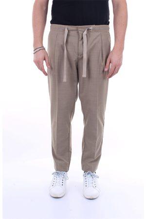 Entre Amis Regular Men Kaki virgin wool, polyester and spandex