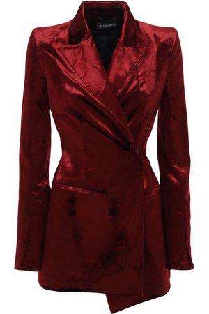 ANN DEMEULEMEESTER Cotton Blend One Breast Blazer Jacket