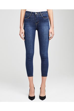 L'Agence Women High Waisted - Margot High-Rise Skinny Jeans in Prime