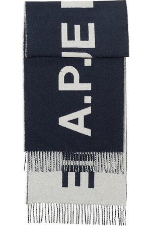 A.P.C Wool Angele Logo Scarf