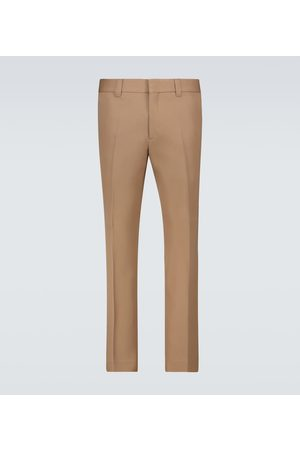 Burberry Wool slim-fit pants
