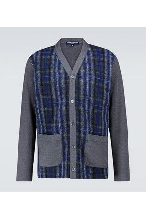 Comme des Garçons Cotton-blend checked cardigan