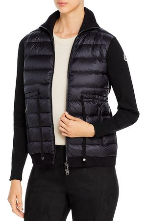 Moncler Cardigan Puffer Front Coat