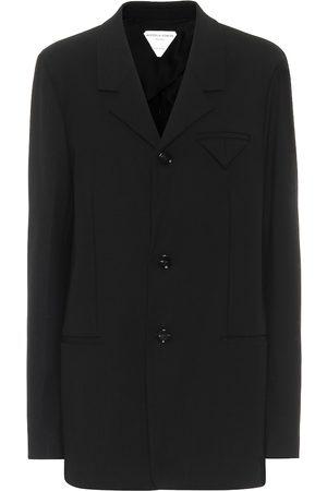 Bottega Veneta Single-breasted technical twill jacket
