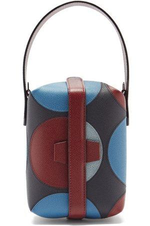 VALEXTRA X La Double J Tric Trac Leather Bag - Womens - Multi