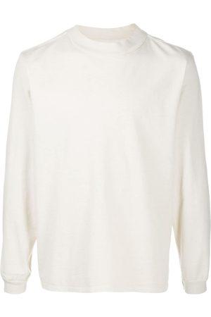 Les Tien Mock-neck cotton sweatshirt - Neutrals