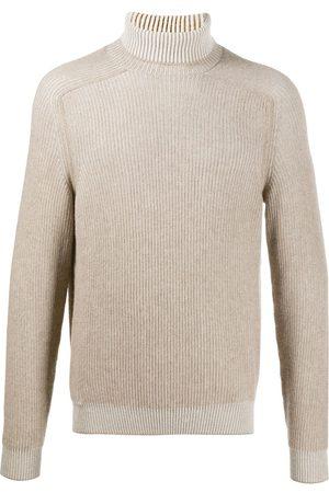 Sease Men Turtlenecks - Cashmere roll neck jumper - Neutrals
