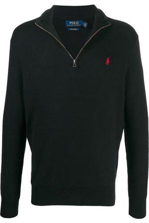 Polo Ralph Lauren Men Sweatshirts - Half-zip cotton jumper