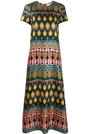 La DoubleJ Swing geometric print dress