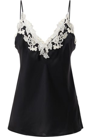 La Perla Maison Silk & Lace Top