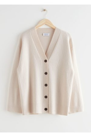 & OTHER STORIES Oversized Button Up Cardigan