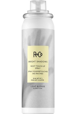 R+Co Bright Shadows Root Touch Up Spray Light Blonde