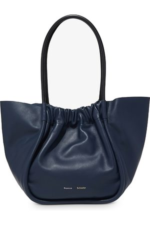 Proenza Schouler Smooth Calf L Ruched Tote