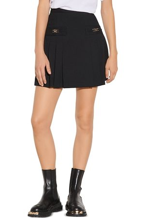 Sandro Rebeca Pleated Mini Skirt