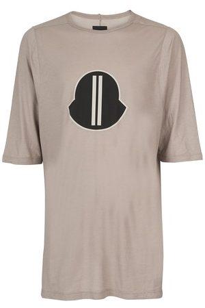 Rick Owens Men Short Sleeve - X Moncler - Logo t-shirt
