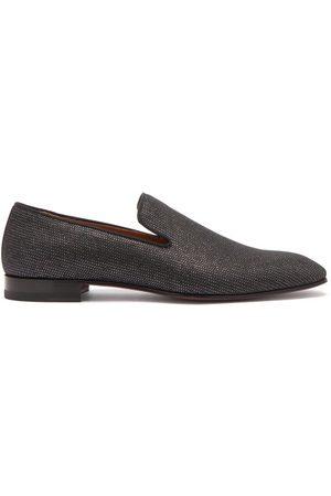 Christian Louboutin Dandelion Metallic Loafers - Mens