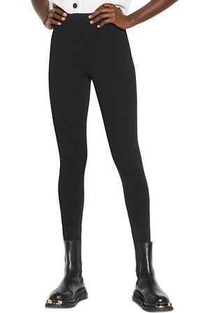Sandro Yannick High Waisted Leggings
