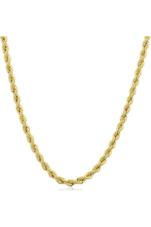 SuperJeweler 14K (6.15 g) 2.1mm Rope Chain Necklace