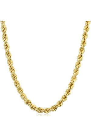 SuperJeweler 14K (11.90 g) 3.3mm Rope Chain Necklace