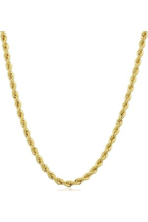 SuperJeweler 14K (6.70 g) 2.1mm Rope Chain Necklace