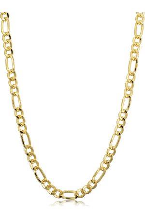 SuperJeweler 14K (13.70 g) 4.2mm Figaro Chain Necklace