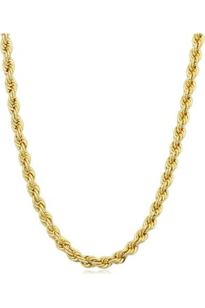 SuperJeweler 14K (15.60 g) 3.3mm Rope Chain Necklace