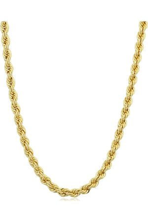 SuperJeweler 14K (19.40 g) 3.3mm Rope Chain Necklace
