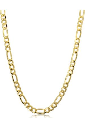 SuperJeweler 14K (11.70 g) 4.2mm Figaro Chain Necklace