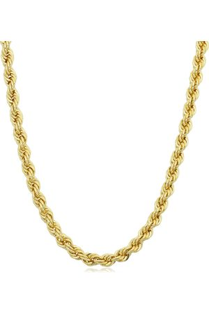 SuperJeweler 14K (13.10 g) 3.3mm Rope Chain Necklace