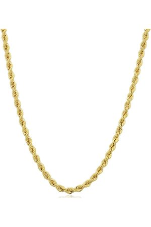 SuperJeweler 14K (7.90 g) 2.1mm Rope Chain Necklace