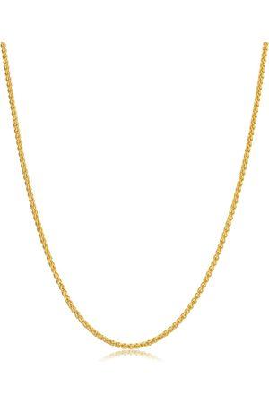 SuperJeweler 14K (4.70 g) 1.6mm Round Wheat Chain Necklace
