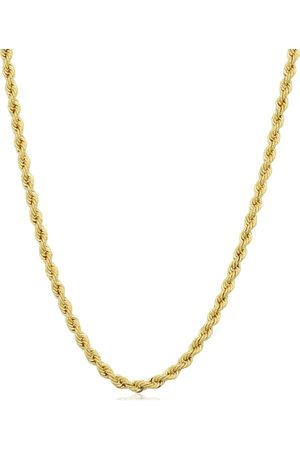 SuperJeweler 14K (9.60 g) 2.1mm Rope Chain Necklace
