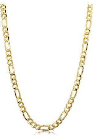 SuperJeweler 14K (17 g) 4.2mm Figaro Chain Necklace
