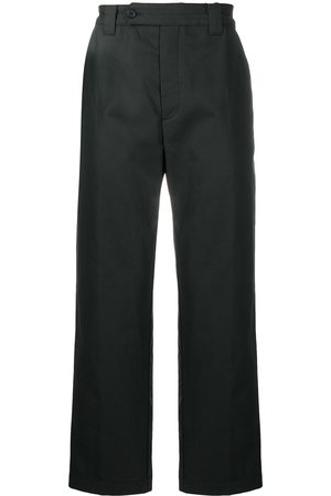 Kenzo Cropped straight-leg trousers