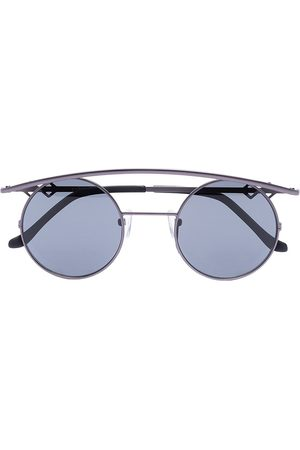 Karen Wazen Women Round - Retro XL round-frame sunglasses