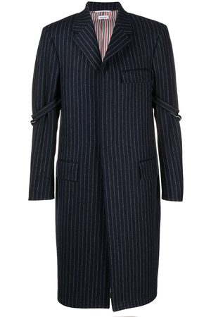 Thom Browne Pinstripe chesterfield coat