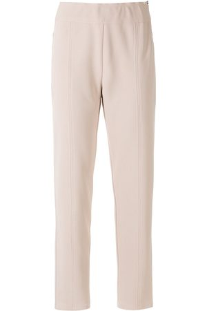 Alcaçuz Alcione straight leg trousers - Neutrals