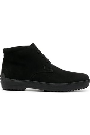 Tod's Lace-up suede boots
