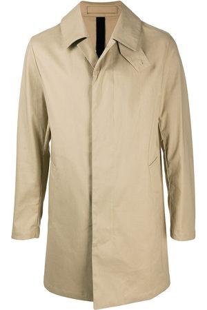 MACKINTOSH Men Coats - CAMBRIDGE cotton coat - Neutrals