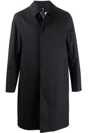 MACKINTOSH Men Coats - OXFORD bonded three-quarters coat
