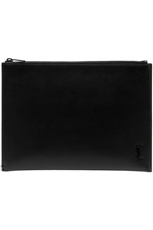 Saint Laurent Tiny Monogram tablet holder
