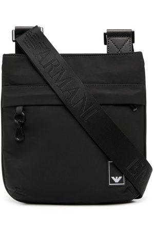 Emporio Armani Logo patch shoulder bag